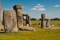 Stonehenge, UK. Stonehenge complex in a sunny day, UK Stock Image