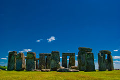 Stonehenge, UK. Stonehenge complex in a sunny day, UK Stock Photography