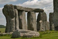 Stonehenge un giorno pieno di sole Fotografie Stock Libere da Diritti