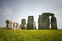 Stonehenge un giorno pieno di sole Immagine Stock Libera da Diritti