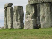 Stonehenge --un monumento di pietra diritto preistorico situato in Inghilterra immagine stock libera da diritti