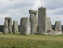 Stonehenge --un monumento di pietra diritto preistorico situato in Inghilterra fotografie stock libere da diritti
