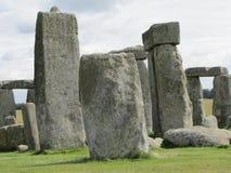 Stonehenge --un monumento di pietra diritto preistorico situato in Inghilterra immagini stock libere da diritti