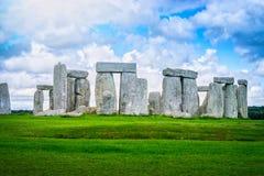 Stonehenge un monumento di pietra preistorico antico, Wiltshire immagini stock