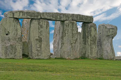 Stonehenge under a blue sky, England Royalty Free Stock Image