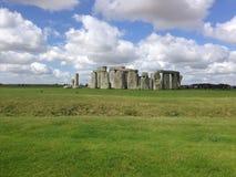 Stonehenge. Under cloud royalty free stock photography
