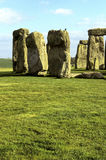 Stonehenge- United Kingdom. UNESCO World Heritage Neolithic & Stone age ruins of Stonehenge in the English countryside- near Amesbury, United Kingdom Stock Photos