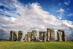 Stonehenge, United Kingdom. Stonehenge stone circle in United Kingdom royalty free stock images