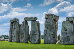 Stonehenge världsarv, Salisbury slätt, Wiltshire, UK Arkivfoton