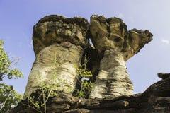 Stonehenge van Ubon, Thailand Stock Foto