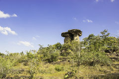 Stonehenge van Ubon, Thailand Stock Foto's