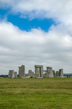 Stonehenge. View at the Stonehenge, England Royalty Free Stock Photos