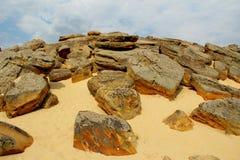 Stonehenge von Melitopol Stockbild