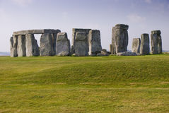 Stonehenge w ranku fotografia stock