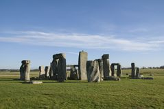 Stonehenge in Wiltshire County - England Stock Images