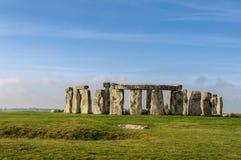 Stonehenge in Wiltshire, Engeland Royalty-vrije Stock Foto's