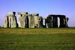 Stonehenge Wiltshire Engeland Royalty-vrije Stock Fotografie
