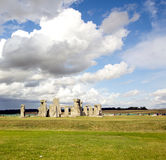 Stonehenge in Wiltshire, England. Stock Images