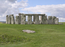 Stonehenge in Wiltshire, England Royalty Free Stock Image