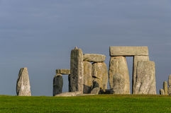 Stonehenge in Wiltshire, England Royalty Free Stock Image