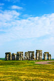 Stonehenge in Wiltshire of the Great Britain stock image