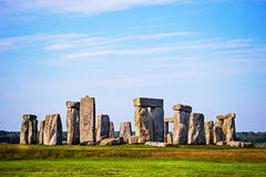 Stonehenge in Wiltshire in Great Britain stock image