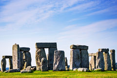 Stonehenge in Wiltshire of Great Britain royalty free stock photos