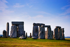 Stonehenge of Wiltshire in the Great Britain royalty free stock photography