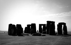 Stonehenge Wiltshire, Inglaterra imagens de stock