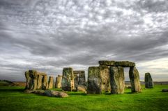 Stonehenge WILTSHIRE R-U Photo libre de droits