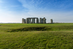 Stonehenge in Wiltshire UK Stock Photos