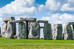Stonehenge World Heritage site, Salisbury Plain, Wiltshire, UK. Stonehenge is one of the most fascinating historical monuments in England Stock Images