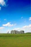 Stonehenge z niebieskim niebem, Zjednoczone Królestwo Zdjęcie Stock