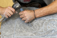 Stonemason stock photography
