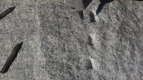 stonemason almacen de metraje de vídeo