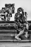 Stonemason Gargoyle on Bern Minster Cathedral Royalty Free Stock Photos
