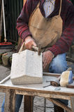 Stonemason Royalty Free Stock Photography
