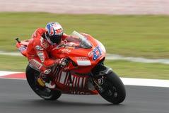 Stoner australiano de Casey de Ducati Marlboro em 2007 Fotografia de Stock Royalty Free