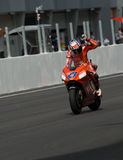 Stoner australiano de Casey do vencedor de Ducati Marlboro Imagem de Stock