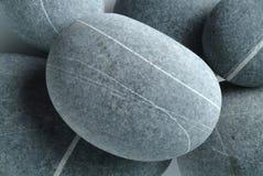 Stones-1 fluvial Images libres de droits