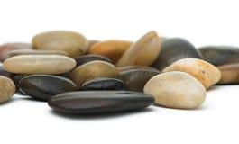 Stones. Polished stones background Royalty Free Stock Photo