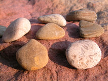 Stones. In the sun Royalty Free Stock Photography