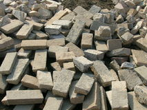 Stones. Heap of stones on a building site Royalty Free Stock Photo