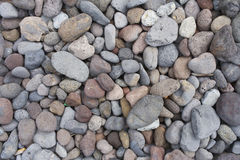 Stones. Of various colors texture Royalty Free Stock Photos