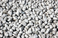 Stones. White small stones for background Royalty Free Stock Photo
