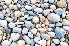 Stones. Pebble stones. nature background Royalty Free Stock Photo