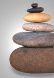 Stones. Balanced stack of smooth stones royalty free stock images