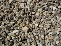 Stones. Various size and forms of stones texture for construction use Stock Photo