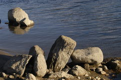 Stones. And water Stock Photography