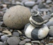 Stones. Beach royalty free stock photo